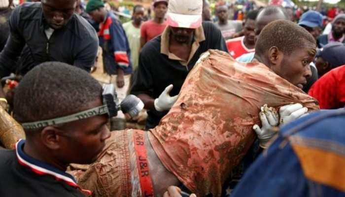 जिम्बाब्वे: सोने की खदानों में बांध का पानी भरा, 60 की मौत की आशंका