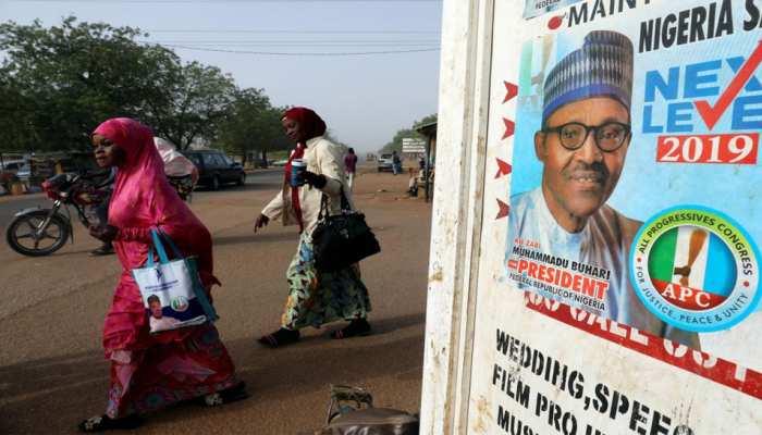 नाइजीरिया: राष्ट्रपति चुनाव की पूर्वसंध्या पर 8 जगहों पर हमला, 66 लोगों की मौत