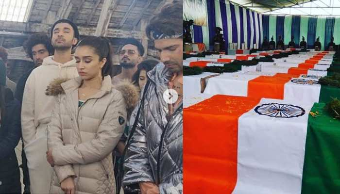 वरुण धवन, श्रद्धा कपूर के साथ 'स्ट्रीट डांसर' की टीम ने रखा मौन व्रत, लंदन से दी सैनिकों को श्रद्धांजलि