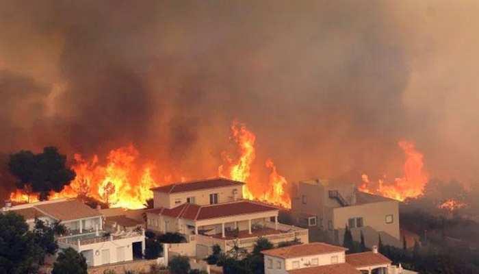 उत्तरी स्पेन में 50 जगह लगी आग, 760 लोग आग पर काबू पाने की कोशिश में जुटे