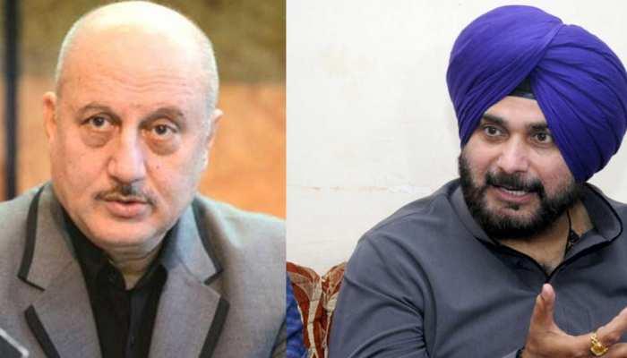 पुलवामा हमला: नवजोत सिंह सिद्धू के बयान पर भड़के अनुपम खेर, बोले- 'जब आप ज्यादा बोलते हैं तो...'