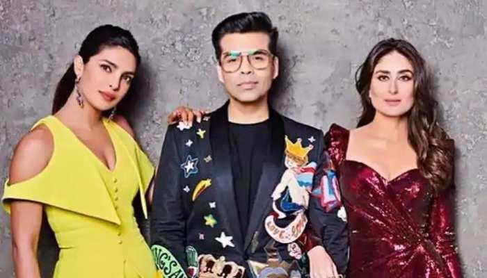 करण जौहर के शो का फिनाले एपिसोड, करीना कपूर खान ने प्रियंका चोपड़ा से कह दी ये बात...
