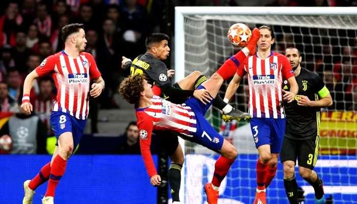 चैंपियंस लीग: एटलेटिको मैड्रिड ने युवेंटस को हराया, सिटी ने अंतिम 5 मिनट में 2 गोल कर जीता मैच