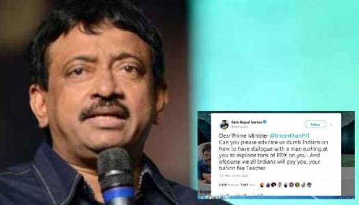 PAK प्रधानमंत्री की रामगोपाल वर्मा ने लगाई क्लास, बोले- 'मेरे इस सवाल का जवाब दो टीचर'