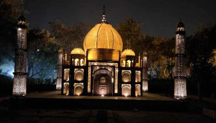 दिल्ली को मिला 'दुनिया के अजूबों' वाला पार्क, 150 टन का कचरे से किया ये कमाल