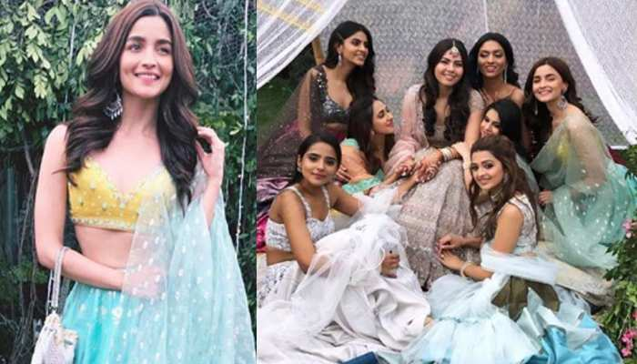 Alia Bhatt as bridesmaid at her best friend Wedding See Photos