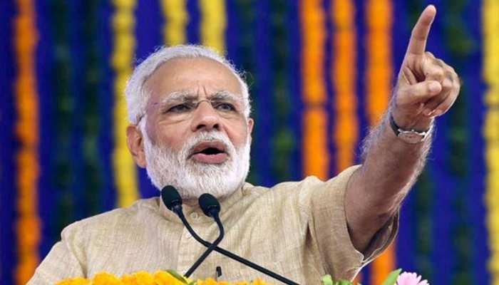 राजस्थान पहुंचे पीएम मोदी, कहा- यह नई नीति, नई रीति वाला भारत है