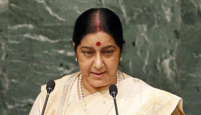 सुषमा स्वराज ने चीनी विदेश मंत्री वांग यी के साथ की मुलाकात, पुलवामा मामले पर की चर्चा