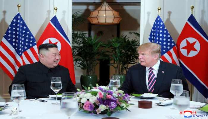 Donald Trump and Kim Jong UN start Vietnam summit with dinner