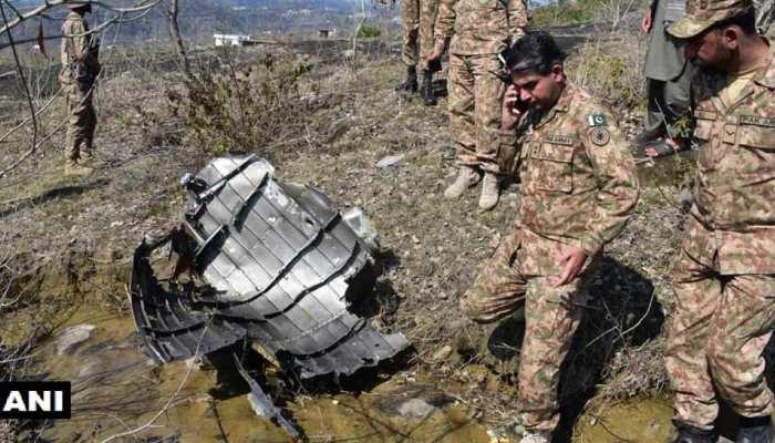 पाकिस्तान का एक और झूठ बेनकाब, PoK में मिला F-16 का मलबा