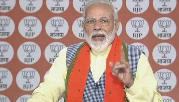 PM मोदी ने कहा- 'दक्षिण भारत के साथ पूरे देश में BJP की होगी जीत'