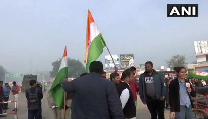 Attari-Wagah border. Wing Commander AbhinandanVarthaman will be released by Pakistan today