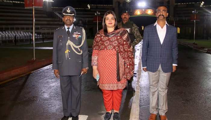 Warm Welcome of Wing Commander Abhinandan Varthaman at Attari-Wagah border
