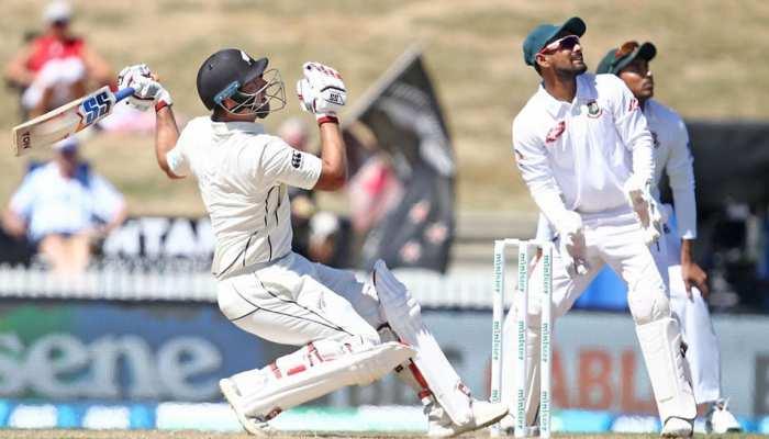NZvsBAN: विलियम्सन ने जमाया दोहरा शतक, बांग्लादेश हार की कगार पर