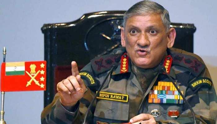 जनरल बिपिन रावत बोले, 'नाजुक हालात से निपटने के लिए सक्षम और तैयार है सेना'