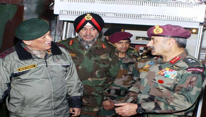 सेना प्रमुख ने व्हाइट नाइट कोर का किया दौरा, सुरक्षा हालात का लिया जायजा