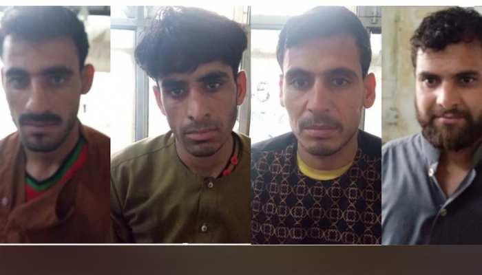इंदिरा गांधी एयरपोर्ट से चार अफगानी गिरफ्तार..पेट से मिले 122 हेरोइन कैप्सूल