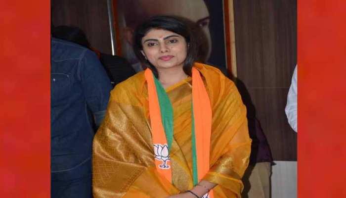 क्रिकेटर रविंद्र जडेजा की पत्नी रीवाबा बीजेपी में शामिल, गुजरात के सौराष्ट्र में बनेंगी बड़ा चेहरा