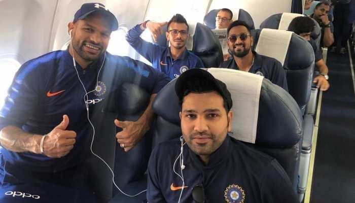 INDvAUS: ऑस्ट्रेलिया के खिलाफ दूसरा वनडे कल, नागपुर पहुंची टीम इंडिया; देखें VIDEO