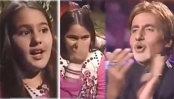 VIDEO: सारा ने बचपन में इस क्यूट अदा से किया था बिग बी को आदाब! देखकर मुस्करा देंगे आप