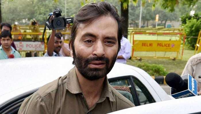 यासीन मलिक पर लगाया गया PSA, श्रीनगर से जम्मू जेल किया जाएगा शिफ्ट