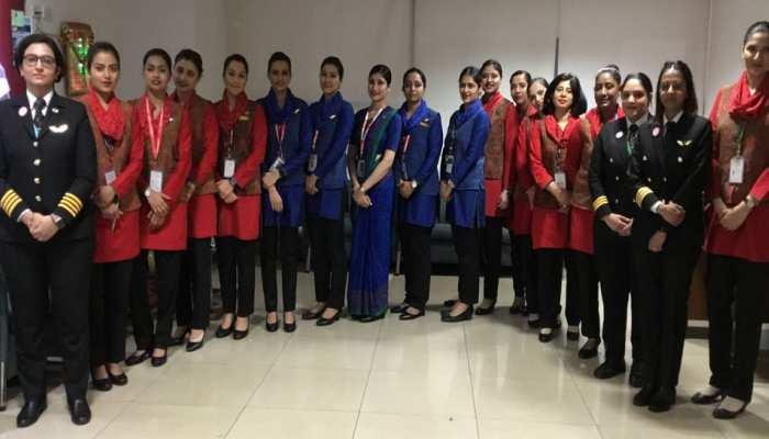 एयर इंडिया: अंतरराष्ट्रीय महिला दिवस पर महिला क्रू के हाथों में 52 फ्लाइट्स की कमान