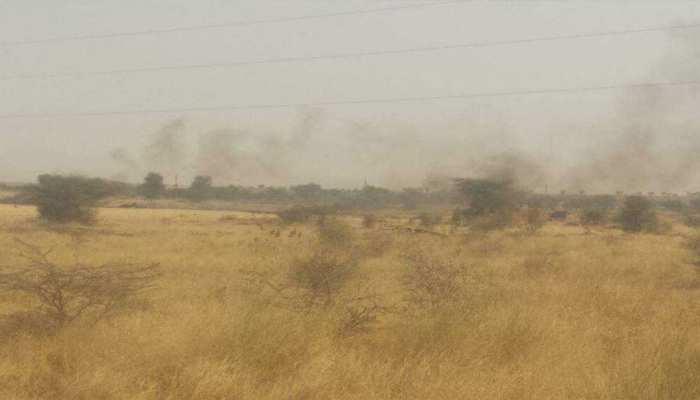 बीकानेर: मिग-21 विमान क्रैश, हादसे की वजह का अभी पता नहीं