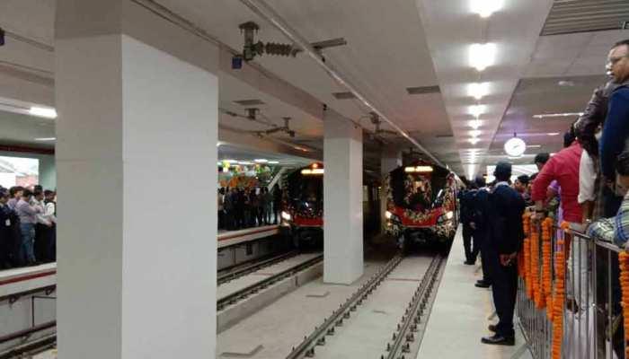 अंतरराष्ट्रीय महिला दिवस पर पीएम मोदी ने लखनऊवासियों को मेट्रो रेल की सौगात दी