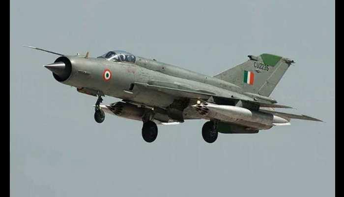 बीकानेर: वायुसेना का लड़ाकू विमान MIG 21 हुआ क्रैश, नाल एयबेस के पास हुआ हादसा