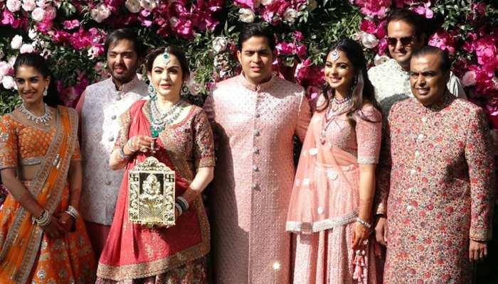 Business : PICS of Akash Ambani and Shloka Mehta marriage in Mumbai
