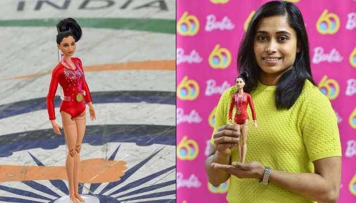 महिला दिवस पर अमेरिकी कंपनी ने लॉन्च की भारतीय जिमनास्ट दीपा कर्माकर जैसी बार्बी डॉल