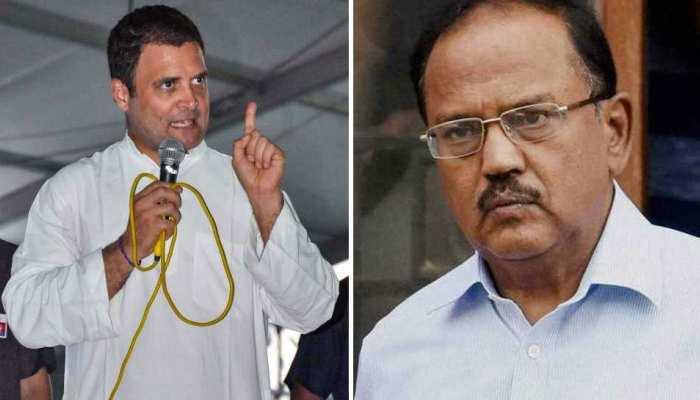 कांग्रेस अध्यक्ष के वार पर सरकार ने कहा, 'अजीत डोभाल के बारे में राहुल गांधी ने बोला झूठ'