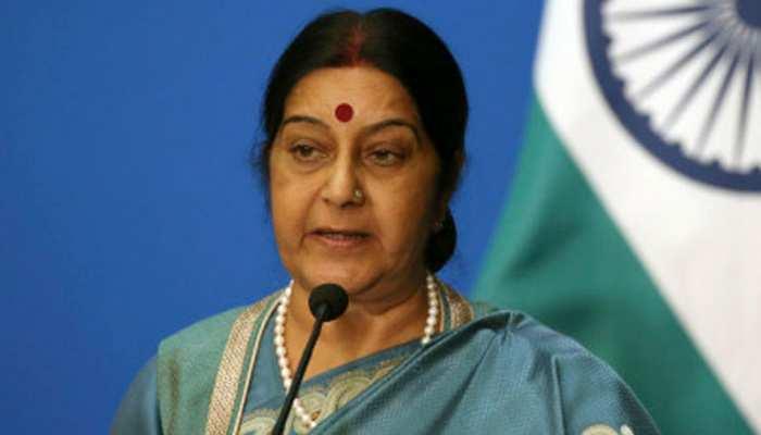 सुषमा स्वराज ने दिया विमान हादसे में मारे गए भारतीयों के परिवार को सहायता का भरोसा