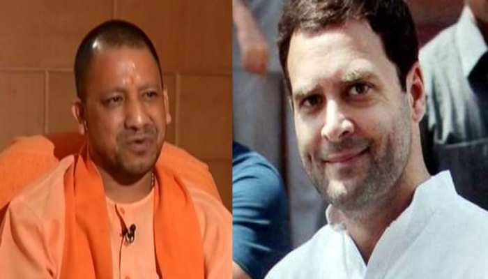 मसूद को 'जी' बोलने पर CM योगी का वार, 'राहुल उतना ही बोलते हैं, जितना रटाया जाता है'