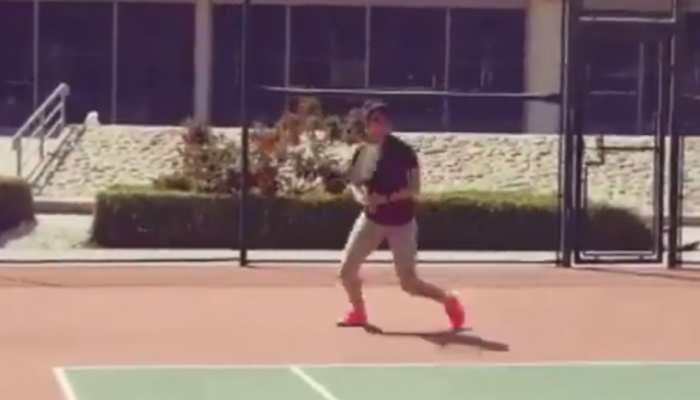 मां बनने के बाद टेनिस कोर्ट में वापस लौटीं सानिया मिर्जा, प्रैक्टिस वीडियो हुआ वायरल
