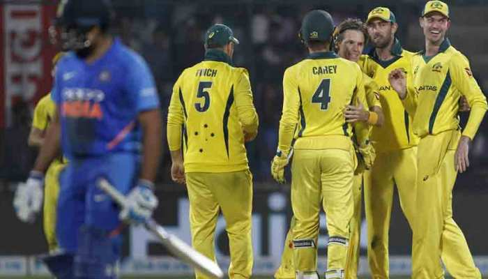 INDvsAUS 5th ODI: ऑस्ट्रेलिया से आखिरी वनडे हारा भारत, सीरीज भी गंवाई