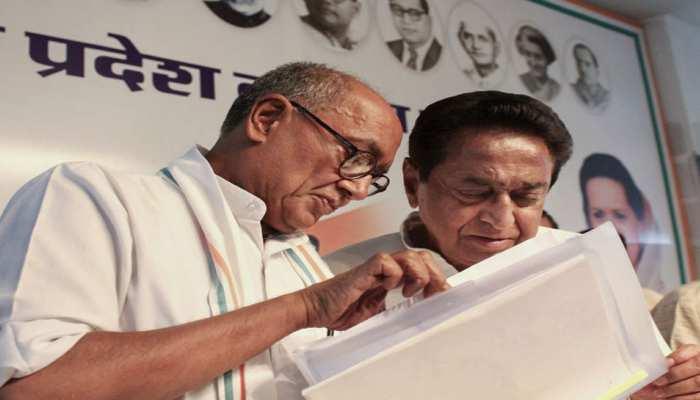 मध्य प्रदेश: कमलनाथ ने कहा, 'किसी मुश्किल सीट से चुनाव लड़ें दिग्विजय सिंह'