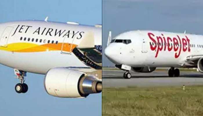 Jet Airways के ग्राउंडेड विमानों का परिचालन कर सकती है SpiceJet