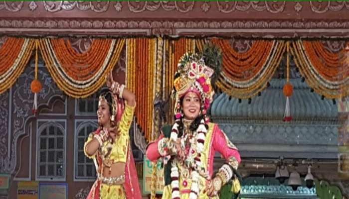 holi celebration in Jaipur