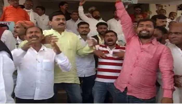 बिहारः महागठबंधन में सीट शेयरिंग से पहले कांग्रेस कार्यालय के बाहर प्रदर्शन, औरंगाबाद सीट पर फंसा पेंच