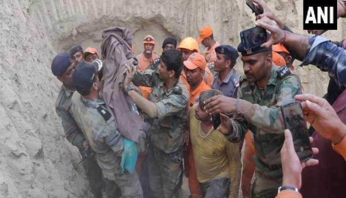 हरियाणा: बोरवेल में गिरा था 18 महीने का मासूम, दो दिनों बाद सुरक्षित निकला