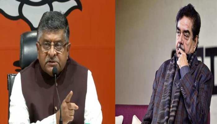 बीजेपी से शत्रुघ्न सिन्हा का कटा टिकट, रविशंकर प्रसाद होंगे पटना साहिब से उम्मीदवार