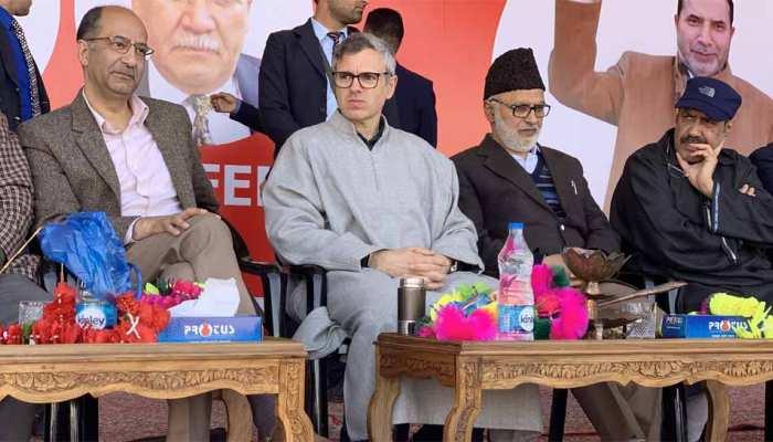 उमर अब्दुल्ला बोले, 'कश्मीर के लोगों का प्रमुख काम है राज्य के विशेष दर्जे को बचाए रखना'