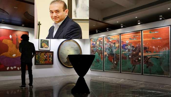 भगोड़े नीरव मोदी के पास है 63 करोड़ की पेंटिंग्स, आज होगी नीलामी
