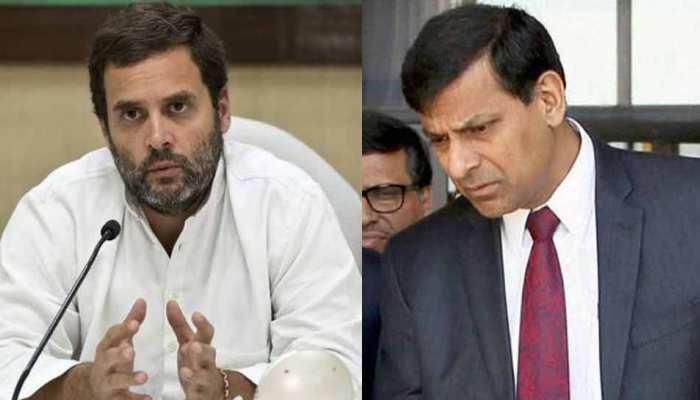 राहुल गांधी का दावा, 'न्याय योजना' के लिए रघुराम राजन से भी ली गई सलाह