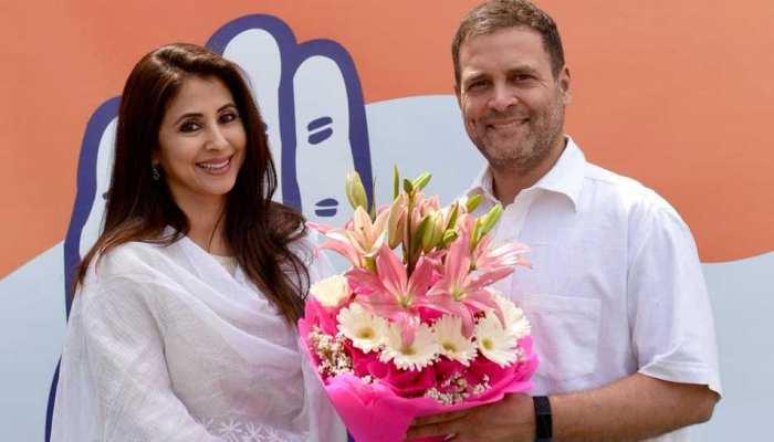 उर्मिला मातोंडकर ने राहुल गांधी की मौजूदगी में ज्वाइन की कांग्रेस, इस सीट से लड़ेंगी चुनाव!