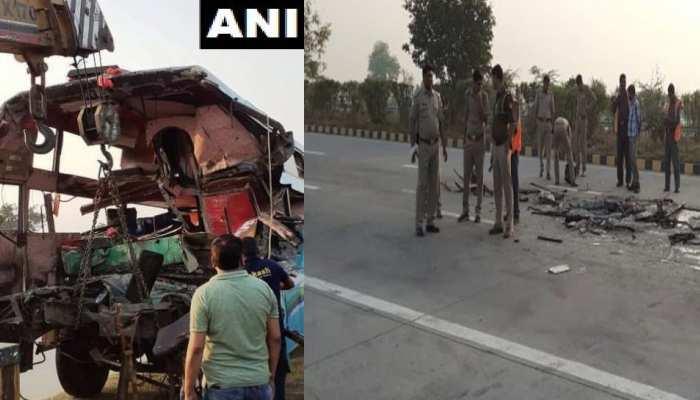 यमुना एक्सप्रेस-वे पर हुए दर्दनाक हादसे पर CM योगी ने जताया दुखा
