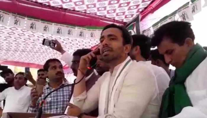 बागपत में जयंत चौधरी का विवादित बयान, कहा- 'लोगों को उनका धर्म देखकर मारा जा रहा है'