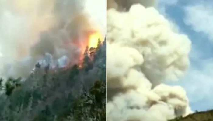 चीन के जंगल में लगी आग, 27 दमकलकर्मियों समेत 30 की मौत