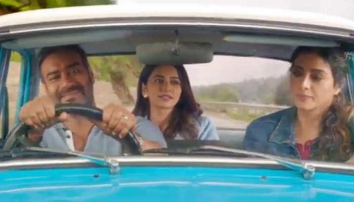 Video : बर्थडे पर अजय देवगन ने फैंस को दिया गिफ्ट, रिलीज हुआ 'दे दे प्यार दे' का ट्रेलर